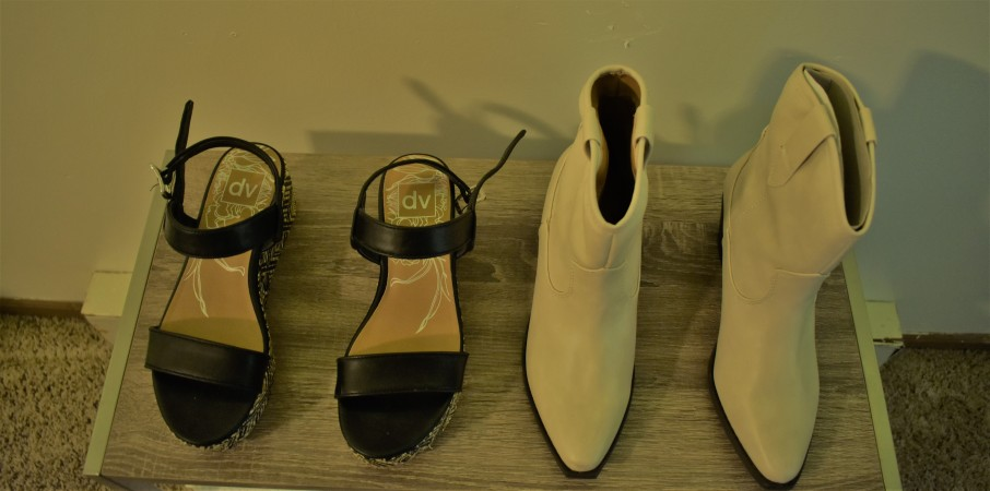 Upper View of Shoes