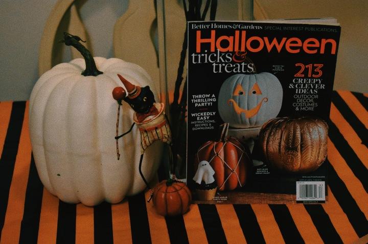 Halloween Decorating (Finally!)