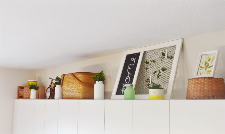 Decorating the Space Above myCounters.