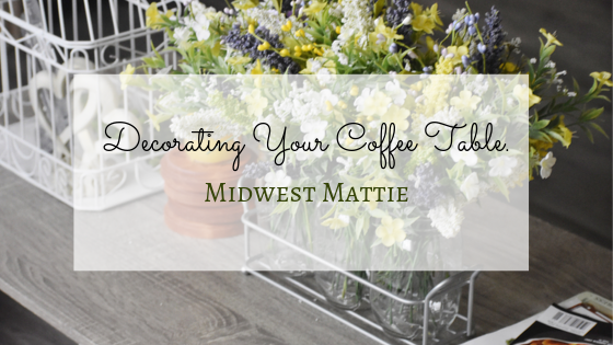 Decorating Your CoffeeTable.